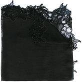 Faliero Sarti lace trim scarf - women - Silk/Cotton/Polyamide/Modal - One Size