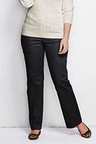 Classic Women's Plus Size Chino Trouser Pants-White/Regiment Navy Paisley