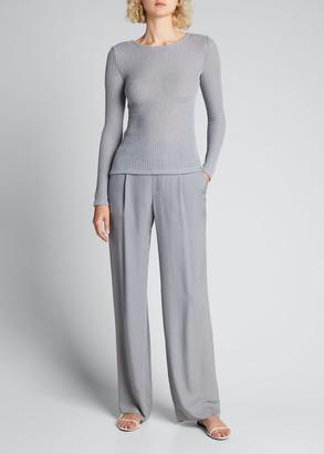 Vince Long-Sleeve Knit Tunic