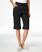 Style&Co. Style & Co. Cuffed Cargo Bermuda Shorts, Only at Macy's