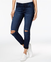 Celebrity Pink Juniors' Infinite Stretch Ripped and Rolled Skinny Jeans