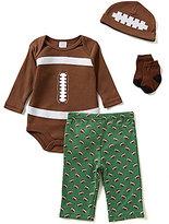 Starting Out Baby Boys Newborn-9 Months Football 4-Piece Layette Set