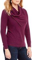 Democracy Cowl Neck Sweater