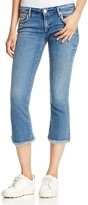 True Religion Karlie Bell Crop Jeans in Gypset Blue