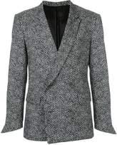 Ex Infinitas double-breasted blazer