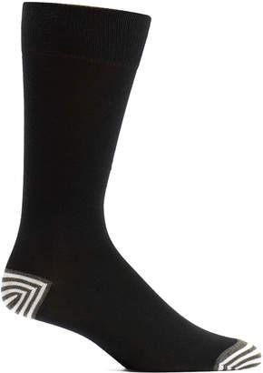 Ozone Men's Socks 19 - Black Basics Pima-Blend Socks - Men