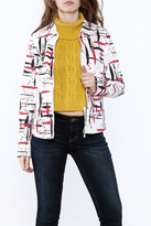 FDJ French Dressing Printed Cotton Jacket