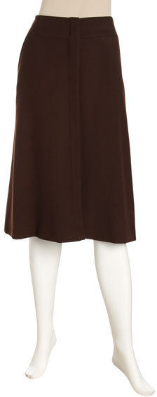 Lafayette 148 New York Button-Front Skirt