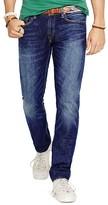 Polo Ralph Lauren Varick Slim Straight Jeans in Bromley Indigo
