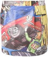 J.W.Anderson car print miniskirt
