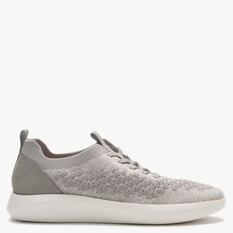Legero Impact Grey Knitted Lace Up Trainers
