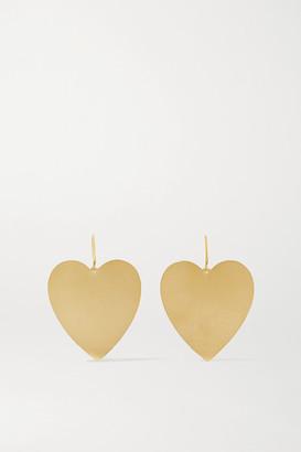 Irene Neuwirth Love 18-karat Gold Earrings - one size