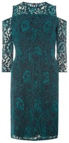 Dorothy Perkins Women's Cold Shoulder Lace Dress