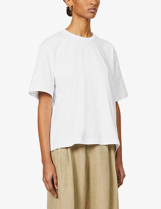 Studio Nicholson Mercerized relaxed-fit cotton-jersey T-shirt