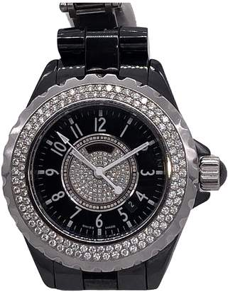 Chanel J12 Quartz Black Ceramic Watches