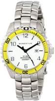 Momentum Women's 1M-DV07WY0 Mini Analog Display Quartz Silver Watch