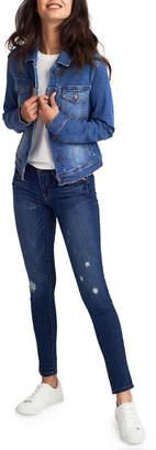1822 Denim Destructed Ankle Jeans