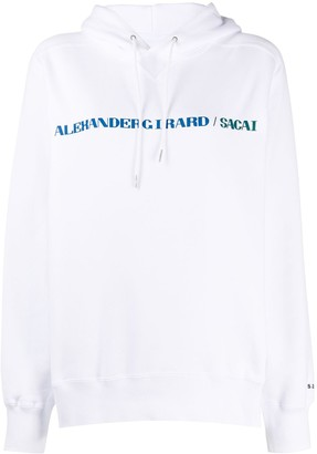 Sacai Alexander Girard print hoodie