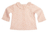 Marie Chantal Baby GirlDaisy Print Long Sleeve Ruffle Collar Baby Blouse