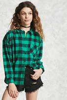 Forever 21 FOREVER 21+ Plaid Flannel Shirt
