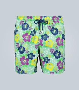 Vilebrequin Moorea Tropical Turtles swim shorts