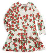 Mini Rodini Baby's, Toddler, Little Girl's & Girl's Rose Frilled Dress