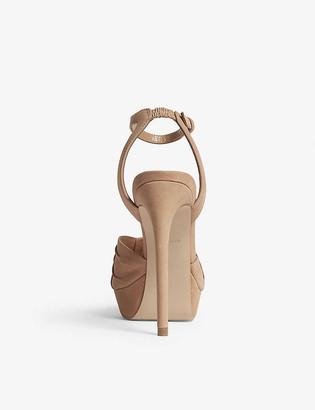 Aldo Sublimity high wedge sandals