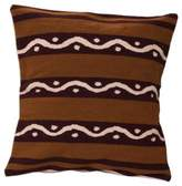 Wool cushion cover, 'Seeds'