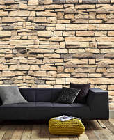 Graham & Brown Dry Stone Wall Mural Wallpaper