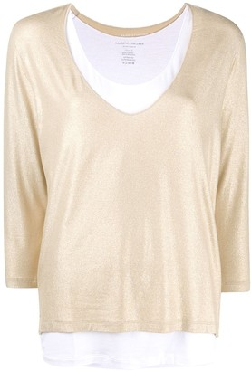 Majestic Filatures Shimmering Layered Top