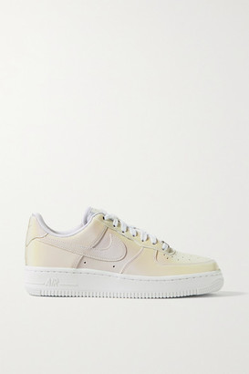 Nike Air Force I Reflective Shell Sneakers - White