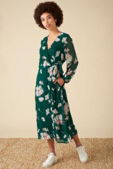 Emily And Fin Luna Casablanca Daisy Wrap Dress - 10
