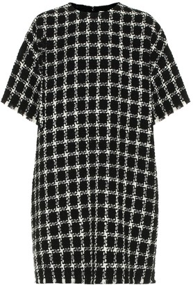 Valentino tweed wool-blend minidress