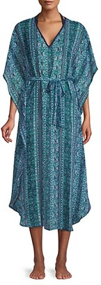 Tommy Bahama Printed Belted Coverup