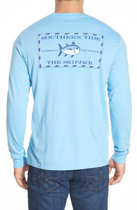 Southern Tide 'Skipjack'Long Sleeve Graphic T-Shirt