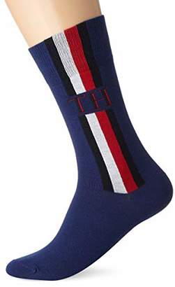 Tommy Hilfiger TH MEN SOCK 2P ICONIC STRIPE(Pack of 2