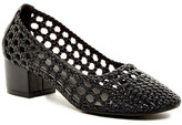 Jeffrey Campbell Bitsie Crochet Cutout Pump