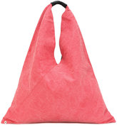 MM6 MAISON MARGIELA triangle tote - women - Cotton/Leather - One Size