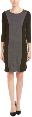 Boden Wool-Blend Shift Dress