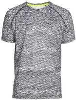H&M Short-sleeved Running Shirt - Dark gray/patterned - Men