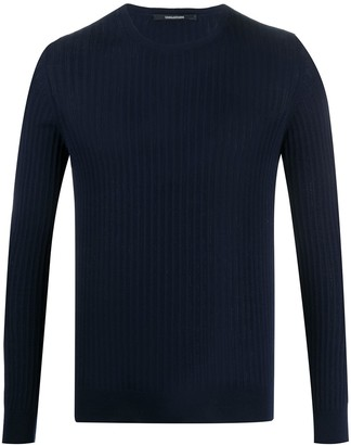 Tagliatore Ribbed Crew Neck Jumper