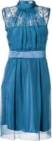 Alberta Ferretti Silk Lace Dress