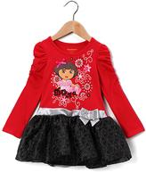 Children's Apparel Network Dora the Explorer Ruffle Dress - Infant, Toddler & Girls