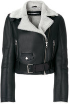 Filles a papa cropped shearling lined jacket