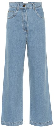 Nanushka Marfa high-rise straight jeans