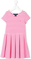 Ralph Lauren striped T-shirt dress - kids - Cotton/Polyester/Spandex/Elastane - 5 yrs