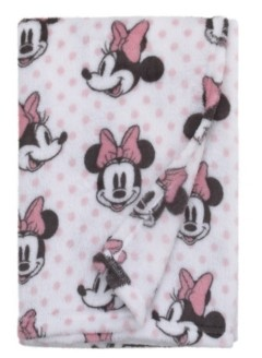 Disney Minnie Mouse Baby Blanket Bedding