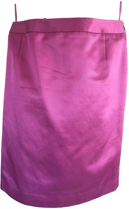 Christian Dior Pink Cotton Skirt for Women