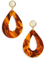 Lizzie Fortunato Women's Teardrop Earrings