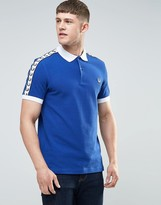 Fred Perry Italy Polo Shirt In Blue
